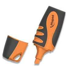 Zvýrazňovač Maped Fluo Peps Pocket Soft - oranžový