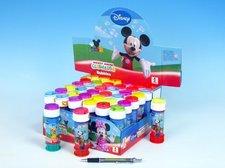 Bublifuk 60ml Mickey Mouse 11,5cm asst 5 barev