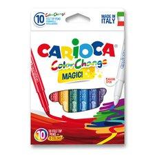 Dětské fixy Carioca - 9 barev + kouzelný fix