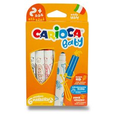 Dětské fixy Carioca Super Baby - 6 barev