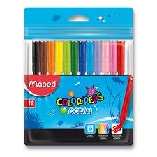 Dětské fixy Maped Color'Peps Ocean - 12 barev