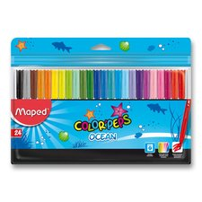 Dětské fixy Maped Color'Peps Ocean - 24 barev