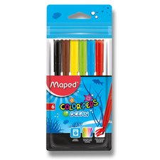 Dětské fixy Maped Color'Peps Ocean - 6 barev