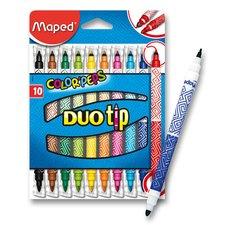 Dětské fixy Maped Color'Peps Duo Tip - 10 oboustranných fixů
