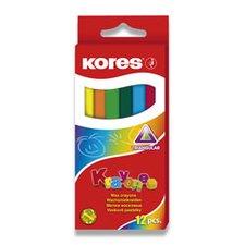 Voskovky Kores Krayones - 12 barev