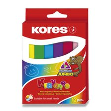 Voskovky Kores Krayones Jumbo - 12 barev