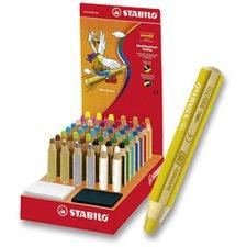 Pastelka Stabilo Woody 3 in 1 - stojánek 48 ks