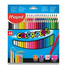 Pastelky Maped Color´Peps - 48 barev
