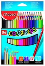 Pastelky Maped Color´Peps - sada 36 ks