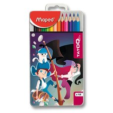 Pastelky Maped Color'Peps Metal Tatoo - 12 barev