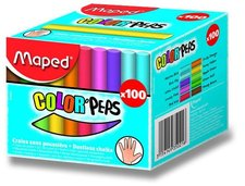 Maped - barevné kulaté křídy