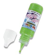Dekorační lepidlo Glitter Glue - zelené, 25 ml