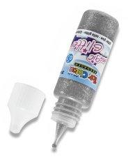 Dekorační lepidlo Glitter Glue - stříbrné, 25 ml