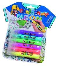 Barvy na textil Universal Pop Fabric Paint - sada 6 barev Neon
