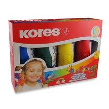 Prstové barvy Dedi Kolor - 4 barvy, 150 ml
