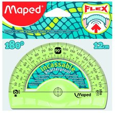 Plastový úhloměr MAPED Flex 180°