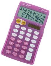 Citizen FC Junior - kapesní kalkulátor, růžová