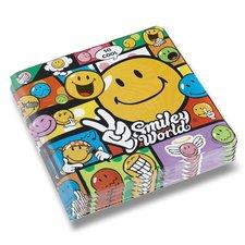 Papírové ubrousky Smile Comic - 33 x 33 cm, 20 ks