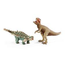 Schleich Prehistorická sada Giganotosaurus a Saichania malí