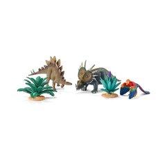 Schleich Hrací set s prehistorickými zvířaty a rostlinami