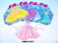 Šaty/Oblečky na panenky asst v sáčku