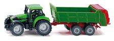 SIKU Blister - Traktor s univerzální vlečkou