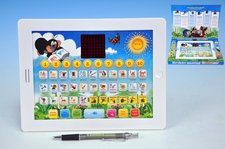 Krtkův naučný tablet pro nejmenší Krtek 24,1x18,7x1,8cm