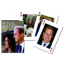 Hrací karty Královská svatba