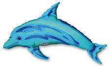 Fóliový party balónek 3D - Delfín