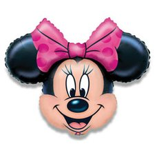 Fóliový party balónek 3D - Minnie Mouse
