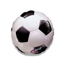 Fóliový party balónek kulatý - fotbal míč