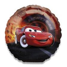 Fóliový party balónek kulatý - Cars