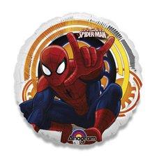 Fóliový party balónek kulatý - Spiderman