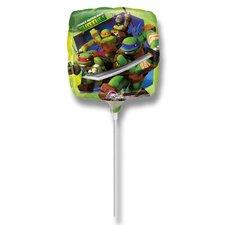 Fóliový party balónek - Želvy Ninja