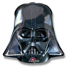 Fóliový balónek 3D - Dart Vader Helmet Black