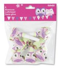 Frkačky Happy Owl - 8 ks