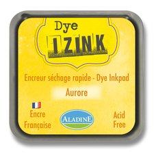 Razítkovací polštářek Izink Dye rychleschnoucí -  žlutá