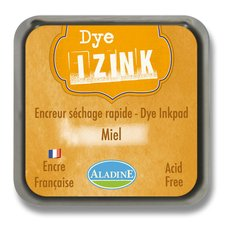 Razítkovací polštářek Izink Dye rychleschnoucí - žlutá medová