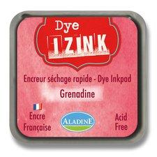 Razítkovací polštářek Izink Dye rychleschnoucí - zářivě červená