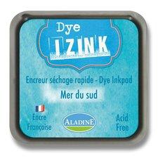 Razítkovací polštářek Izink Dye rychleschnoucí - azurová