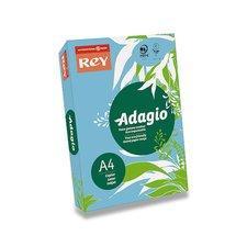 Barevný papír Rey Adagio - A4, 80 g, 500 listů, tmavě modrý