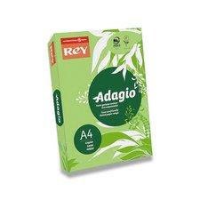 Barevný papír Rey Adagio - A4, 80 g, 500 listů, tmavě zelený