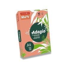 Barevný papír Rey Adagio - A4, 80 g, 500 listů, peach