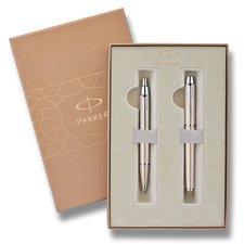 Parker IM Brushed Metal CT - sada plnicí pero a kuličková tužka