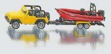 SIKU Blister - Jeep se člunem