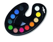 Barvy vodové paleta