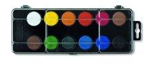Barvy vodové průměr barvy 30mm 12 barev