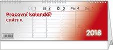 Stolní kalendář 2018 - Pracovní kalendář Citáty II.