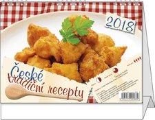 Stolní kalendář 2018 - České tradiční recepty