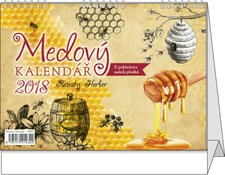 Stolní kalendář 2017 - Medový kalendář -Renaty Herber
